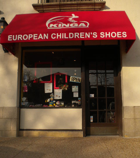 European Children's Shoes opened last year in the plaza