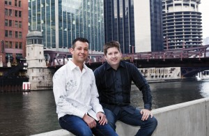 Jabber Jury founders take a time out along the Chicago River