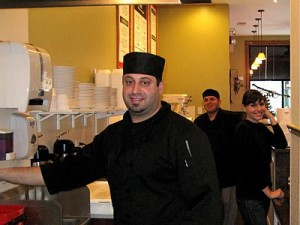 Daniel Sarkiss of Zaytune Mediterranean Grill